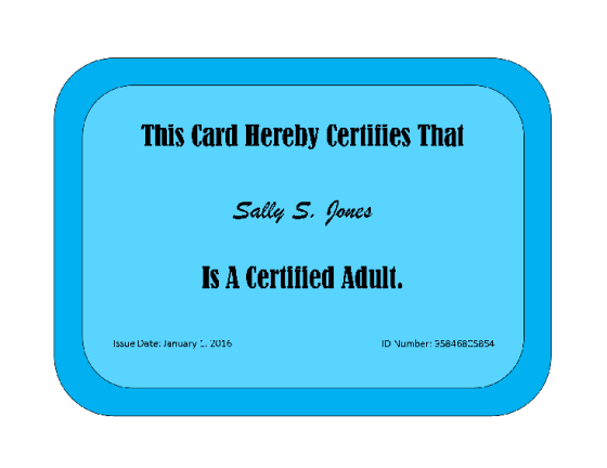 Adult Card2